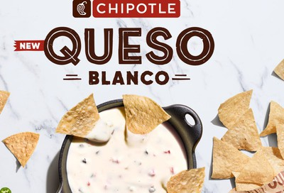 New Spicy and Cheesy Queso Blanco Launches Nationwide at Chipotle