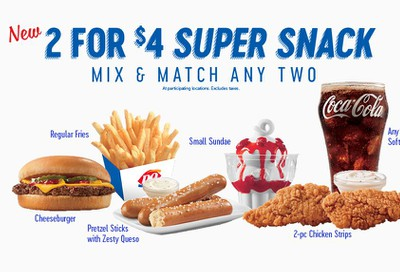 Save Big with the 2 for $4 Super Snack Menu Every Day at Dairy Queen