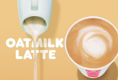 Non-Dairy Milk Substitute Now Offered with Nationwide Oatmilk Launch at Dunkin' Donuts