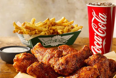 Wingstop's Most Popular Large 10 Piece Wing Combo Available Now