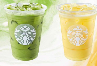 Starbucks Introduces Iced Pineapple Matcha and Iced Golden Ginger Drink at Participating Locations