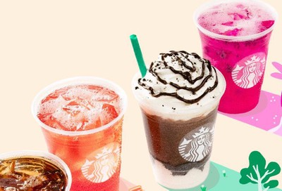 Starbucks App Users can Enjoy BOGO Happy Hour on Select Thursdays from 2 pm to 7pm at Participating Locations
