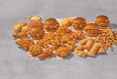 Popeyes Offers New Family Feasts Featuring Chicken Sandwiches, Biscuits, Fries, Pies & More