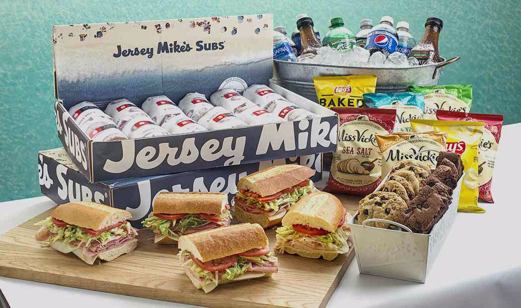 New Individually Wrapped, Boxed and Labeled Catering Program Launches at Jersey Mike's Subs