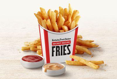 New Secret Recipe Fries Launch Nationwide at Kentucky Fried Chicken