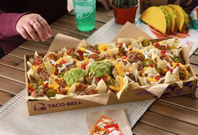 For a Limited Time Only Nachos Party Packs Arrive at Participating Taco Bell Restaurants