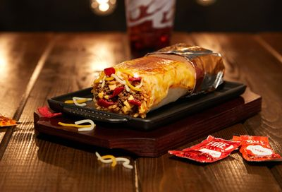 New Grilled Cheese Burrito Launches for a Limited Time at Taco Bell