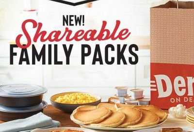 Denny's Introduces their New Family Packs Featuring Grand Slams, Cheeseburgers, Chicken Tenders & More