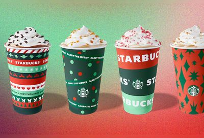 Starbucks Celebrates the Holidays with a New Festive Drink Line Up