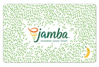 Spend $30 on E-Gift Cards with Jamba and Get $10 in Jamba Reward Cards for Free