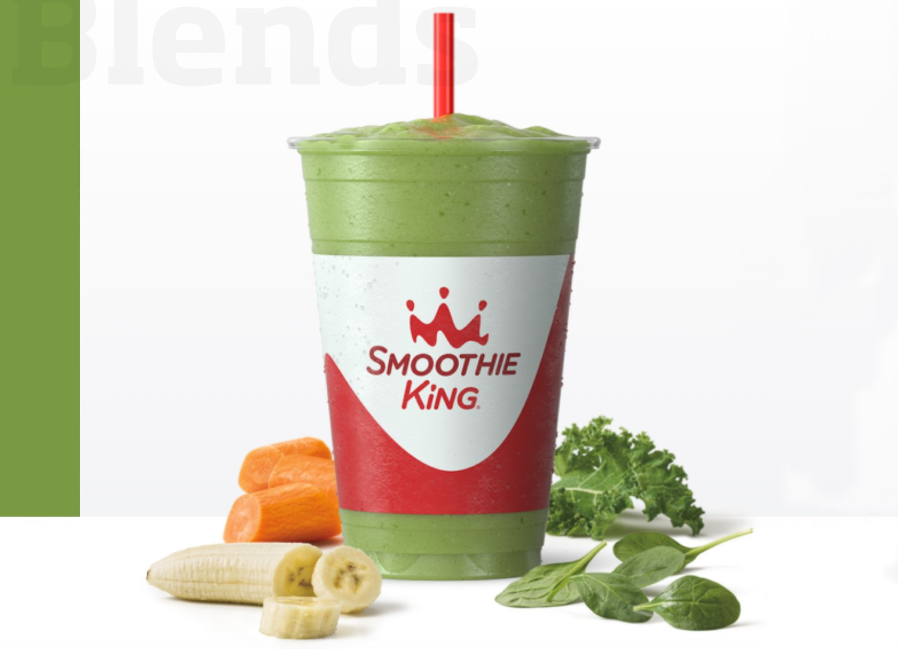 Smoothie King Offers New Immune Builder Veggie Superfood Smoothie