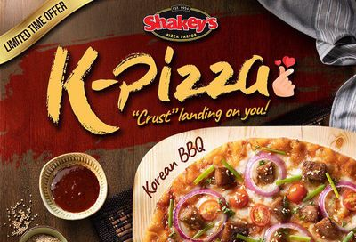 New K-Pizza Served Up at International Shakey's Pizza Locations for a Limited Time Only