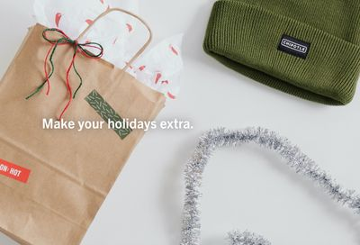 New Sustainably Minded Holiday Apparel & Gift Line Announced by Chipotle Goods