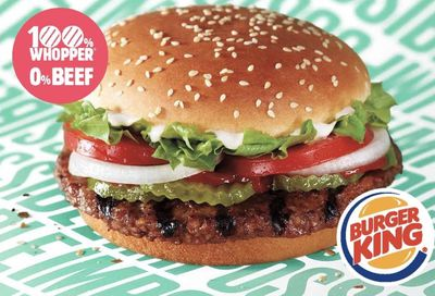 New Impossible Whopper Now Included in the $2 Whopper Wednesdays Deal in the BK App at Burger King