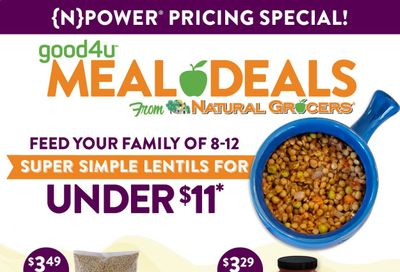 Natural Grocers Weekly Ad Flyer December 31 to March 31
