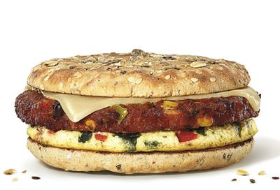 Dunkin' Donuts Introduces the New Plant-Based Southwest Veggie Power Sandwich
