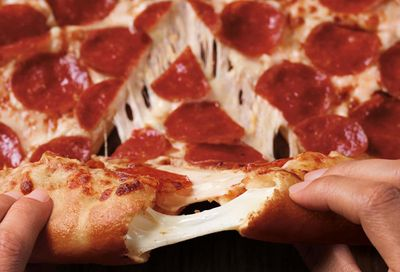 Pizza Hut is Now Offering a Large 3 Topping Stuffed Crust Pizza for Only $11.99