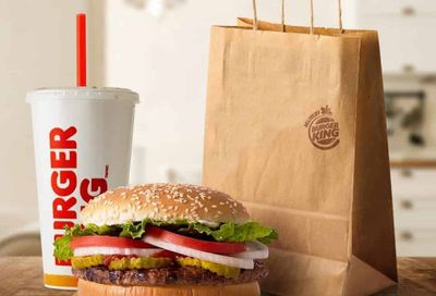 For a Limited Time Only Get a $1 Delivery Fee on all $5+ BK In-app or Online Orders at Burger King