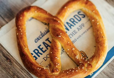You'll Receive a Free Auntie Anne's Pretzel When You Join Pretzel Perks and Spend $1 or More