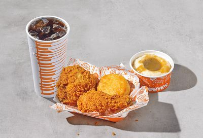 2 PCS Signature Chicken Combo Now Available at Popeyes for $7