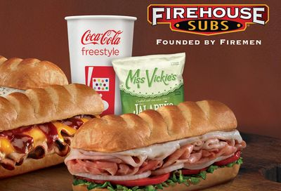 Firehouse Rewards Members Now Get Double the Points Every Monday at Firehouse Subs