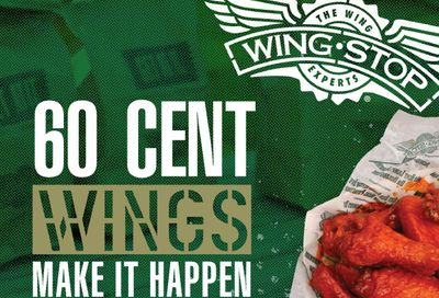 Wingstop is Dishing Up $0.60 Wings Every Monday and Tuesday for a Limited Time