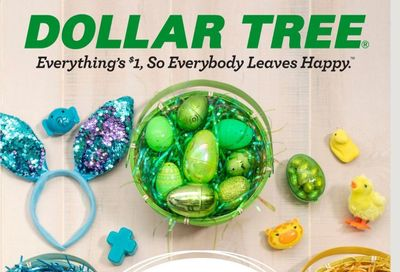 Dollar Tree Weekly Ad Flyer January 17 to April 4