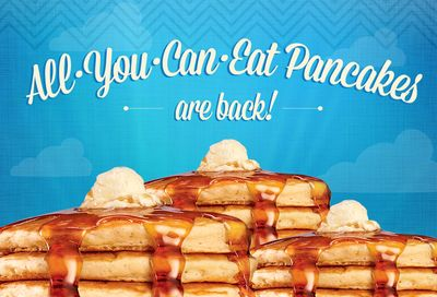 Popular All You Can Eat Pancakes Promotion Returns for a Limited Time to IHOP