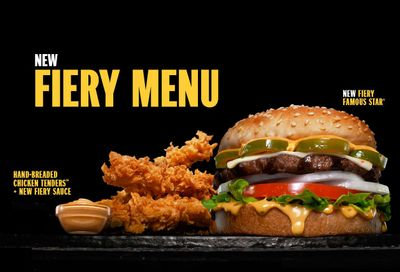 Carl's Jr. Brings the Heat with their New Fiery Menu: Burgers, Double Burgers, Chicken Tenders & More