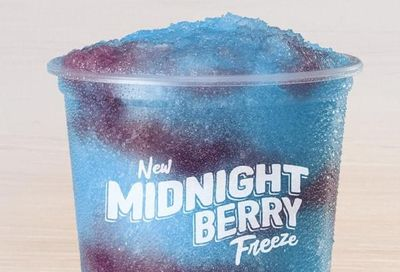 Taco Bell's New Sweet and Chilly Midnight Berry Freeze Arrives for a Limited Time