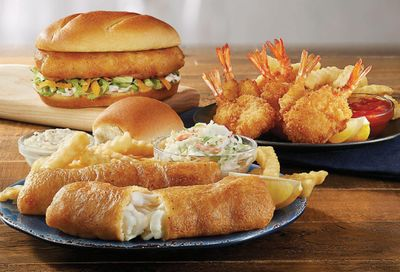 Culver's Rolls Out a Seafood Feast with Butterfly Jumbo Shrimp, North Atlantic Cod and Northwoods Walleye Dinners