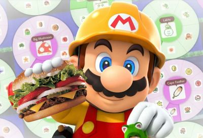 Purchase the $5 Super Mario Meal Online or In-app from Burger King and You Could Win a New Nintendo Switch Prize Pack