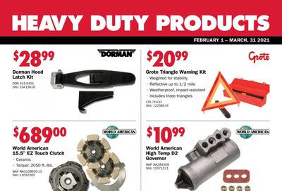 Carquest Weekly Ad Flyer February 1 to March 31