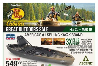Cabela's Weekly Ad Flyer February 25 to March 10