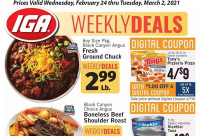 IGA Weekly Ad Flyer February 24 to March 2