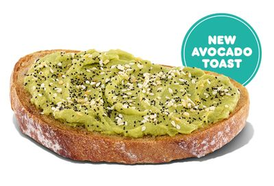 Dunkin' Donuts Launches their New Crispy and Creamy Avocado Toast For a Limited Time