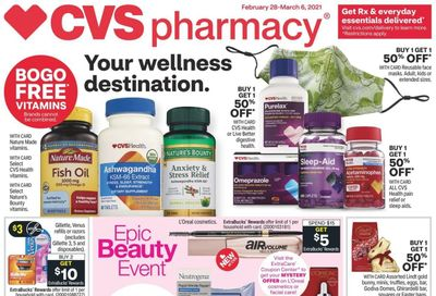 CVS Pharmacy Weekly Ad Flyer February 28 to March 6