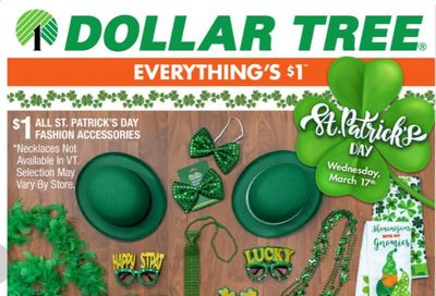 Dollar Tree Weekly Ad Flyer February 28 to March 13