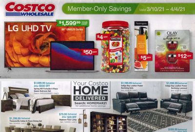 Costco Weekly Ad Flyer March 10 to April 4