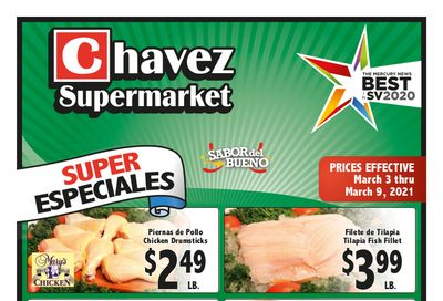 Chavez Weekly Ad Flyer March 3 to March 9, 2021