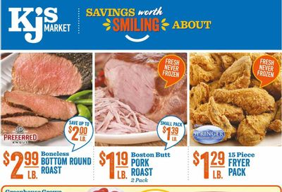 KJ´s Market (GA, SC) Weekly Ad Flyer March 3 to March 9