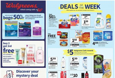 Walgreens Weekly Ad Flyer March 7 to March 13
