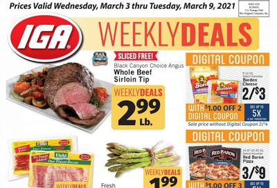 IGA Weekly Ad Flyer March 3 to March 9