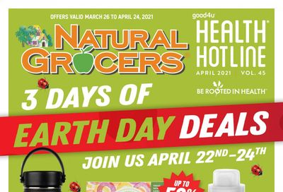 Natural Grocers Weekly Ad Flyer March 26 to April 24