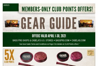 Bass Pro Shops Weekly Ad Flyer April 1 to April 30