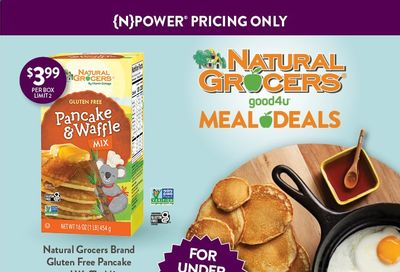 Natural Grocers Weekly Ad Flyer April 1 to April 30