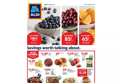 ALDI Weekly Ad Flyer April 7 to April 13