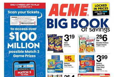 ACME Weekly Ad Flyer April 9 to May 6