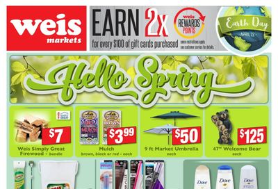 Weis Weekly Ad Flyer April 8 to May 6