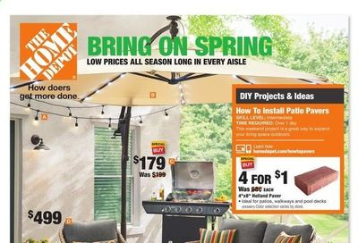 The Home Depot Weekly Ad Flyer April 8 to April 18